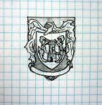 Also not made yet, but this is the crest of the Kelly family.